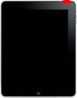 iPad bouton power