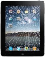 iPad vitre cassée