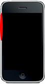 Boutons Volume et Vibreur iPhone 3G