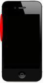 Boutons Volume et Vibreur iPhone 4